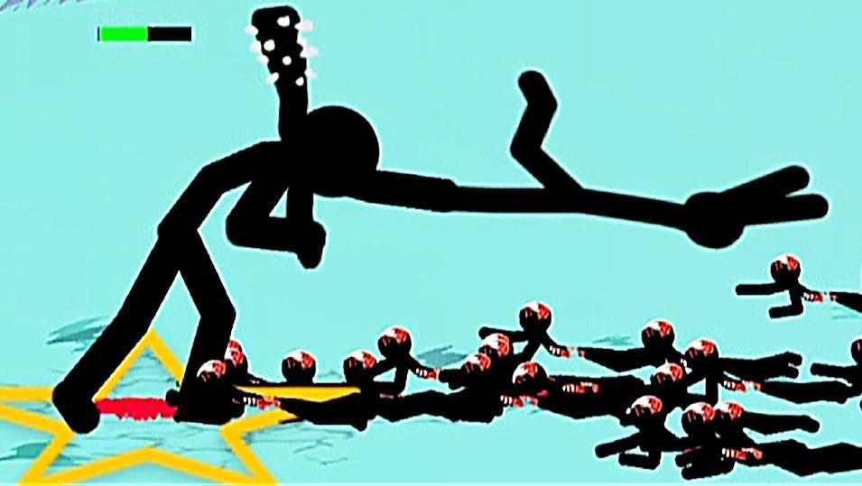【小熙解说】火柴人战争 无尽模式 控制一只超巨型火柴人对抗黑夜敌人等待光明!