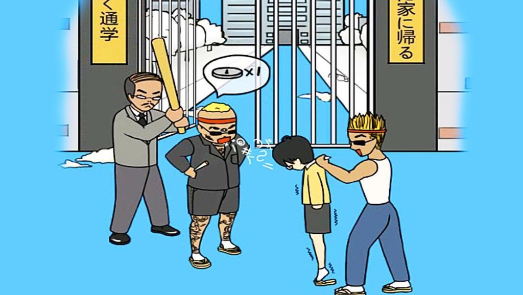 【小熙解说】 进不去学校了 虽然不想上学但是当坏人出现校长居然救了我!我终于进学校了!